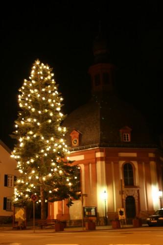 Nauroder Kirche im Winter
